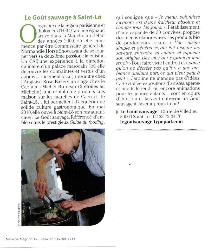 Manche Mag janvier 2011 bis