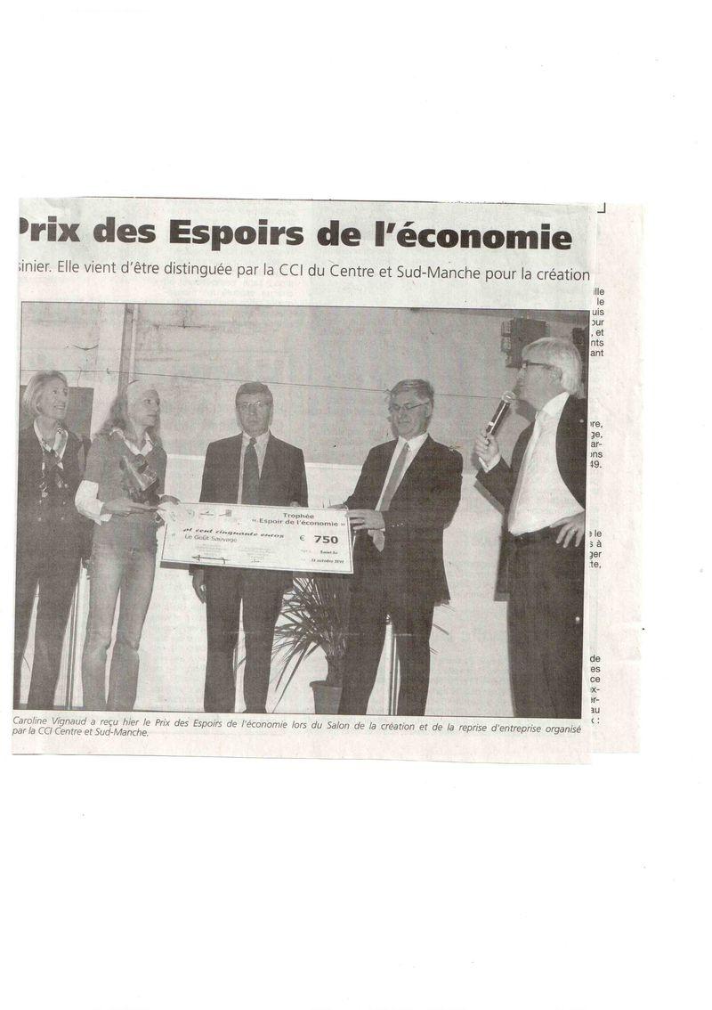 La Presse de la Manche 22 octobre 2011 bis