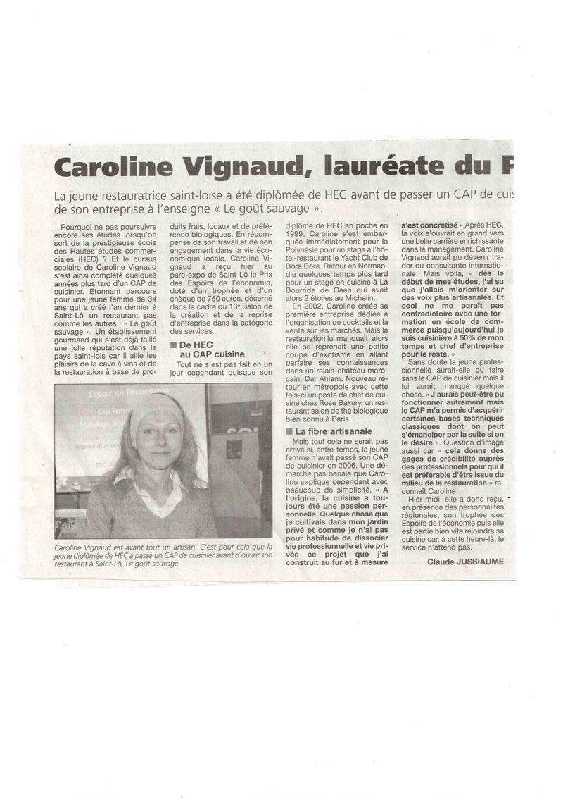 La Presse de la Manche 22 oct 2011