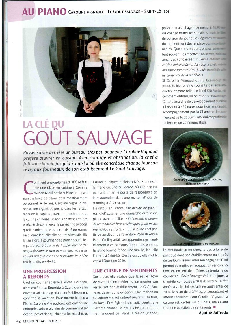 Article Le Chef