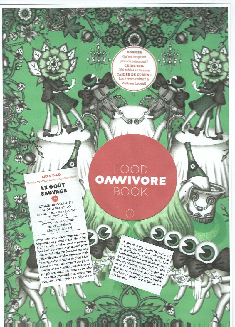 Omnivore Foodbook 2016