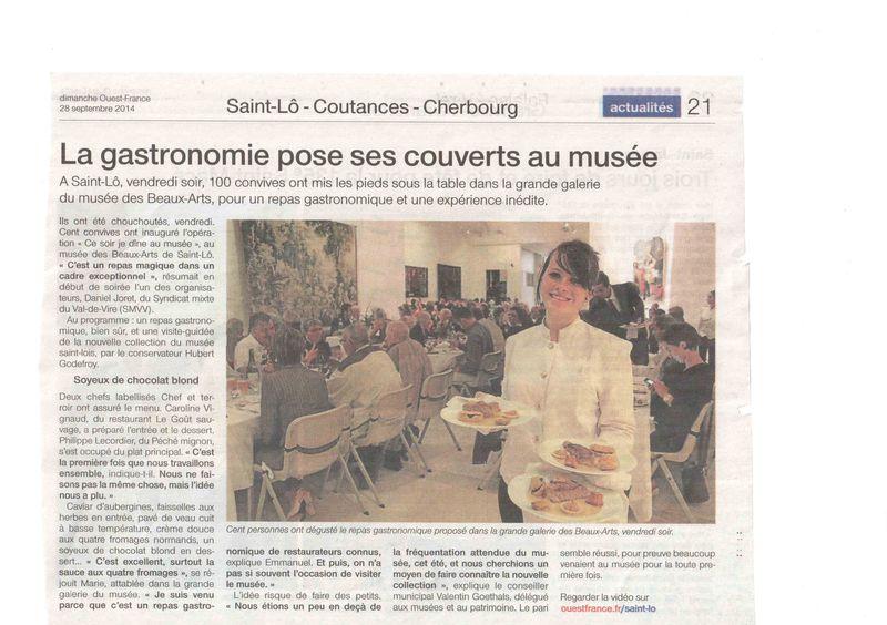 Ouest France septembre 2014