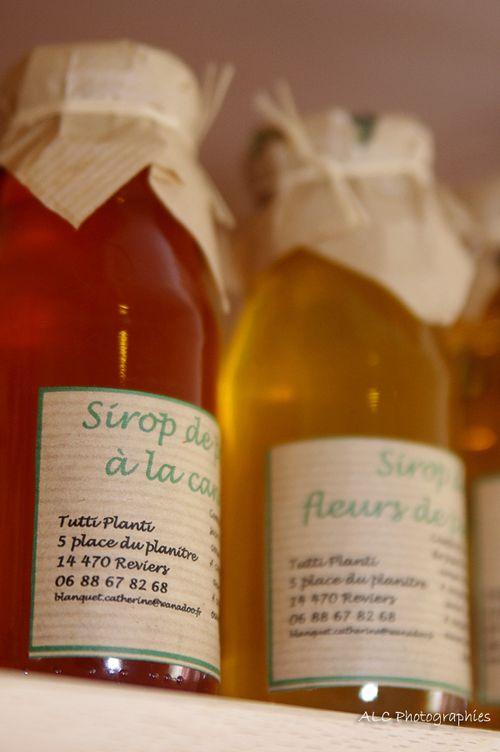 Sirops artisanaux de C.Blanquet
