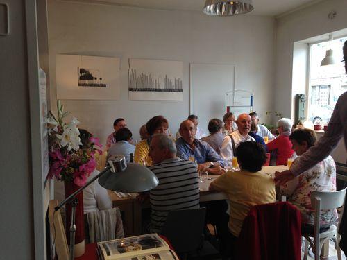 Repas de groupe (60 personnes)